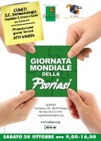 Psoriasi: Open Day a Cuneo sabato 28 ottobre