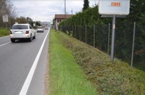Da martedì i lavori per la realizzazione dei marciapiedi tra la rotonda di Strada Missione e Casa Pina