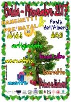 La prima edizione dei banchetti di Natale e la festa dell'albero