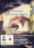 Marco Braico a Mondovì per presentare 'Il teorema del primo bacio'