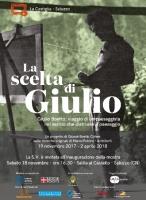 Mostra 'La scelta di Giulio'