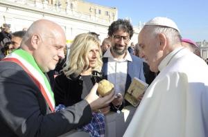 Un Tartufo bianco d'Alba per... Papa Francesco