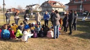 I bambini della Scuola primaria protagonisti della 'Festa degli Alberi'