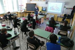 L'Automobile Club Cuneo nelle scuole ad insegnare agli alunni come si circola con la bicicletta