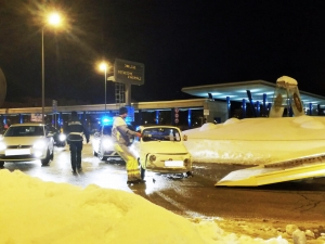 Nel weeekend molti incidenti causati dalla neve: ecco come evitarli