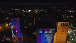 Al Castello di Fossano salita in notturna sulla Torre panoramica