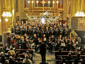 In concerto a Caraglio il coro polifonico e l'orchestra 'Fidei Donum' di Roccavione