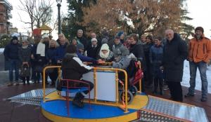Inaugurato ai Giardini Fresia un parco giochi fruibile dai bambini disabili