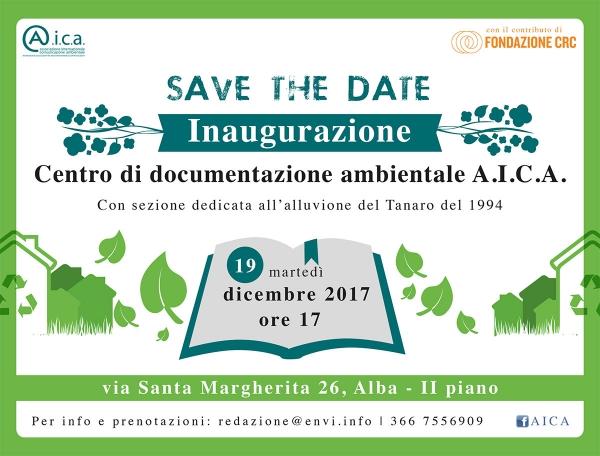 Ad Alba il nuovo Centro di Documentazione Ambientale di AICA