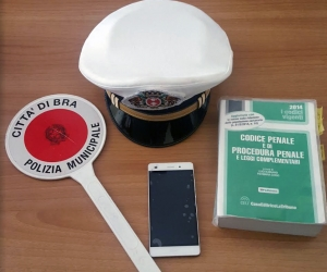 La Municipale di Bra rintraccia un cellulare rubato