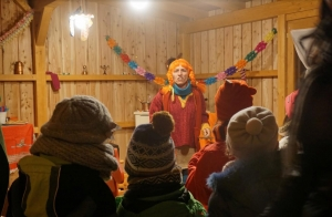 Un migliaio di persone per il Natale del Parco 'con le Calzelunghe'