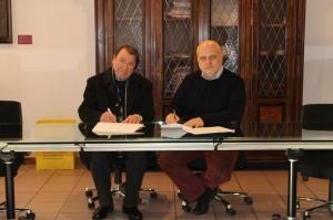 Firmata la convenzione per la concessione della chiesa della Maddalena alla parrocchia dei Santi Cosma e Damiano