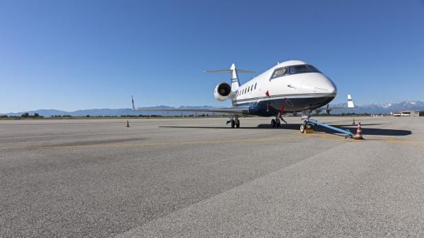 A Levaldigi in crescita traffico internazionale e private jet