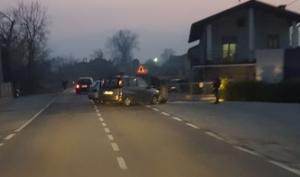 Incidente a San Lorenzo di Caraglio