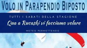 Bagnolo Piemonte: volo in parapendio biposto