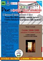 Gaiola: i Giovedì della Gramigna proseguono con la presentazione del libro 'Cuneo 1944-1945 assassini, violenze, torture. Il delitto Galimberti. La primavera delle vendette'
