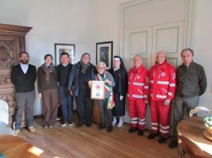 La Croce Rossa incontra la Giunta comunale di Bra