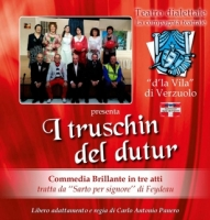 A Saluzzo lo spettacolo teatrale 'I truschin del dutur', commedia in tre atti