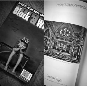 Una foto del Castello del Roccolo su una famosa rivista USA