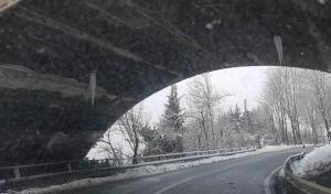 Pericolo sotto il viadotto Soleri
