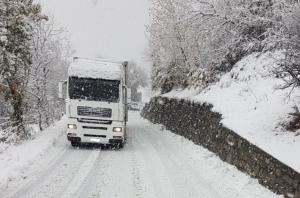 Divieto di circolazione (quasi totale) per i camion sopra le 7,5 tonnellate