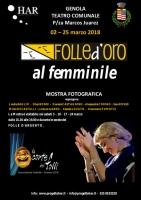 A Genola arriva la mostra fotografica 'Folle d'Oro al femminile'