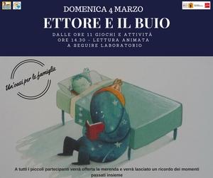 Chiusa di Pesio: 'Ettore e il buio' una giornata per bimbi e genitori per stare insieme