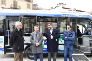 Una nuova navetta Euro 6 per il servizio urbano a Saluzzo