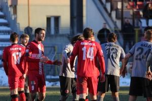 Cuneo calcio sconfitto con la Pro Piacenza