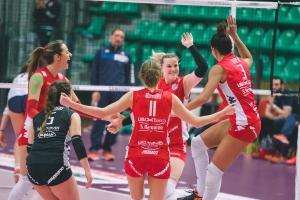 Pallavolo femminile, Cuneo travolge Club Italia e avvicina la vetta