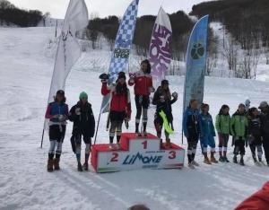 Sci Alpino, cuneesi in evidenza ai Campionati Regionali Children