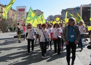 Ad Alba tutti in marcia per 'Non solo mimose'