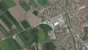 Nuova rotatoria tra le provinciali 662 e 7 Saluzzo-Savigliano