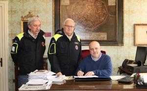 Due locali per la Protezione Civile dal Comune di Alba