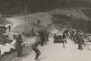 #GiroinGranda: dopo la Prima Guerra Mondiale Cuneo accoglie la prima maglia rosa