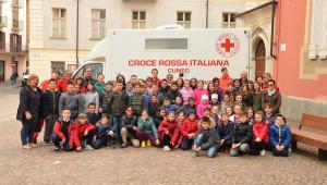 Le elementari di Busca incontrano la Croce Rossa