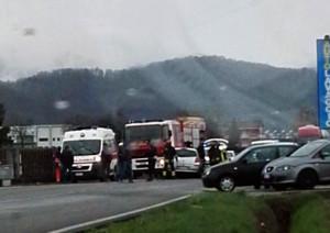Incidente tra Peveragno e Boves