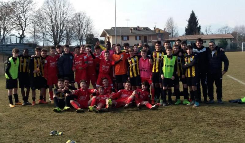 Olmo e Area Calcio insieme dopo la gara sospesa lo scorso 4 febbraio