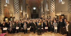 Alba: 51 coppie alla festa per le nozze d'oro nella chiesa di San Domenico