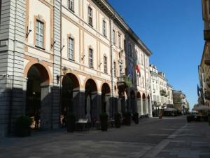 Lega Nord Cuneo: 'Perché una parte di via Roma è isolata?'