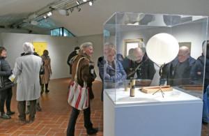 Evento di chiusura al Castello degli Acaja di Fossano per la mostra 'Fontana e Manzoni'