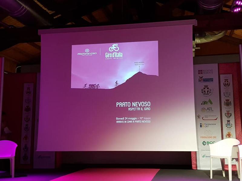 Il Giro torna in Granda: presentata la Abbiategrasso-Prato Nevoso