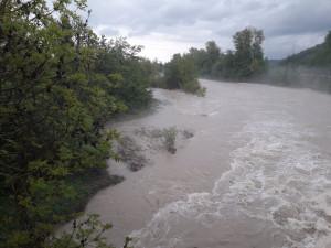 Allerta maltempo, i livelli dei fiumi in calo o stazionari