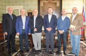 Alba: il Sindaco ha ricevuto un gruppo di studiosi del patrimonio genetico delle viti georgiane