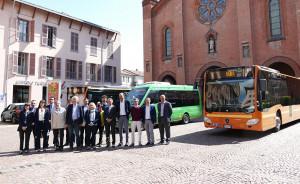Il consorzio Granda Bus acquista tre 3 nuovi mezzi per il Tpl della città di Alba