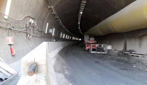 'Senza il nuovo tunnel, negli scorsi giorni il vecchio avrebbe potuto scoppiare'