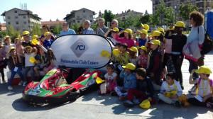 Oltre 300 bambini delle elementari di Cuneo 'Ambasciatori della sicurezza stradale'