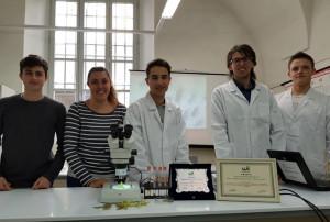 Un premio per l'istituto tecnico agrario di Cuneo