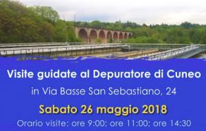 Sabato 26 maggio visite guidate al depuratore di Cuneo