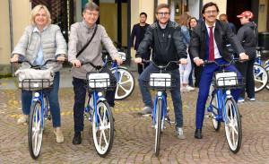 Ad Alba un sistema integrato di bike-sharing a pedalata assistita